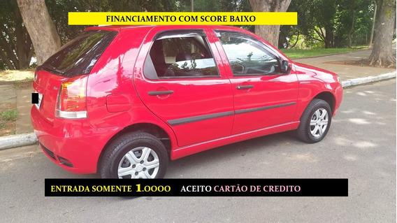 Fiat Palio Financiamento Com Score Baixo Entrada Só 1000