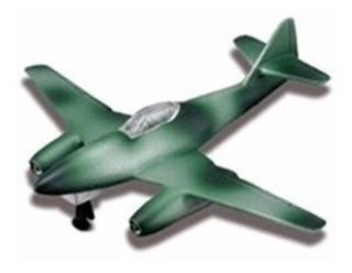 Avião Messerschmitt Me 262 Tailwinds S/ Pedestal Maisto