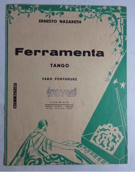Partitura Antiga Ferramenta Tango Piano