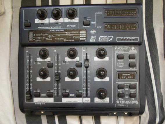 Interface Áudio Behringer Bca 2000