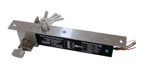 Cerradura Electrica De Perno Con Llaves Fail Sec 12vdc  B198