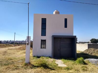 Casa Con Amplio Terreno En Tlaxcala
