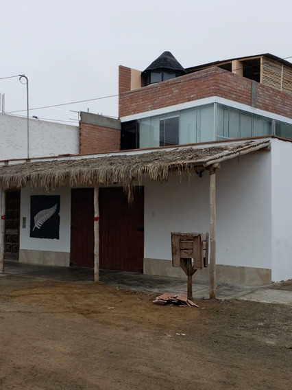 Casa De Playa, Piscina Grande (precio Negociable)
