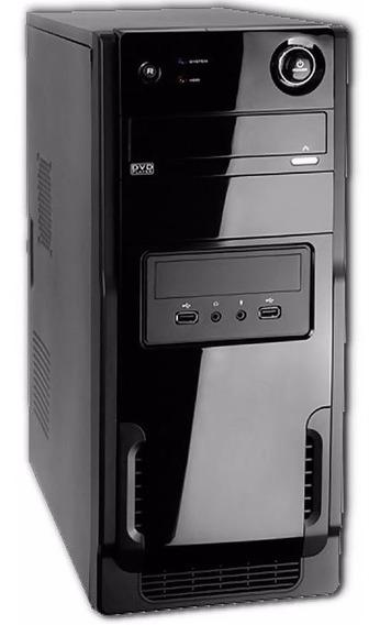 Computador Cpu Pc Loja Intel Sdd E Hd + Monitor Usado Brinde