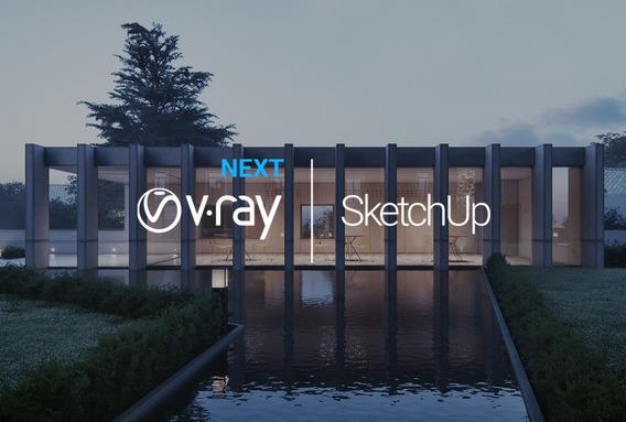 Vray 4.0 Next Para Sketchup 2019 E 2018 100% Funcionando