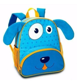 Mochila Infantil Animais Zoo Clio Pets Frete Barato Original
