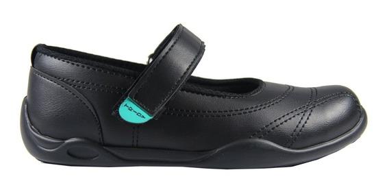 Zapatos Colegiales Guillermina Tridy En Eco Cuero