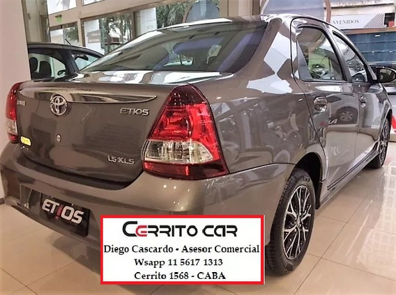 Toyota Etios 1.5 Xls Sedan 4p At Congele Precio Ya!