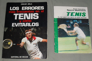 2 Libros, Los Errores Mas Frecuentes En Tenis Y Evitarlos