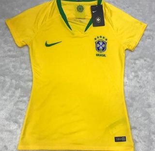 Camisa Feminina Seleção Brasileia Oficial Black Friday 2019