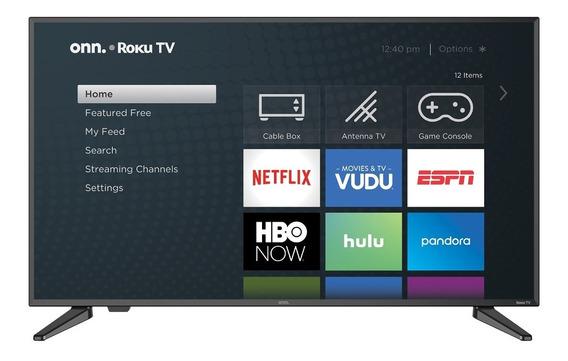 Onn. 40 Class Fhd (1080p) Roku Smart Led Tv