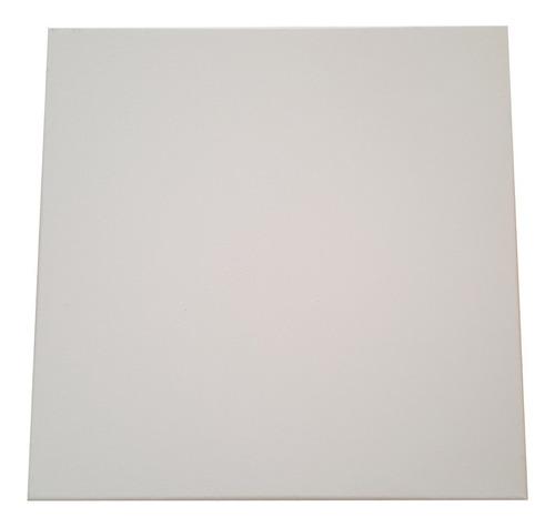 Lienzo Cuadrado Blanco Con Bastidores 25 X 25 Cm