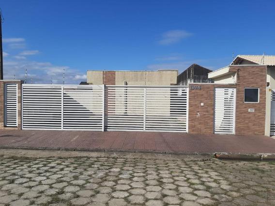Casa Em Cibratel Ii, Itanhaém/sp De 0m² 1 Quartos À Venda Por R$ 180.000,00 - Ca585701