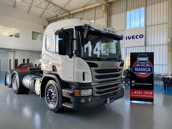Scania P360 6x2 2014