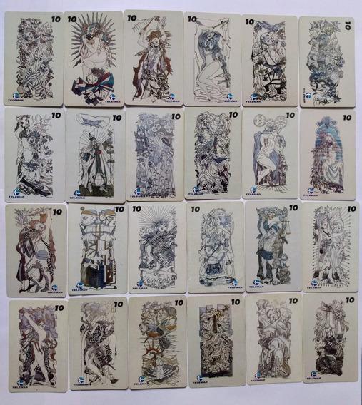 Loucura Série Rara Deuses Africanos - 24 Cartões Telemar