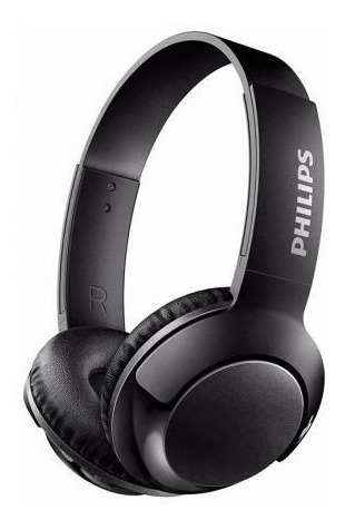 Fone Headphone Philips Com Microfone Bass+ Shl3075bk Preto