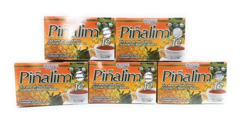 Piñalim Te Original 30 Sobres Original 5 Cajas