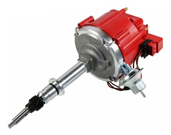Distribuidor Chevrolet Hei Electronico 194 230 250 292 Rojo
