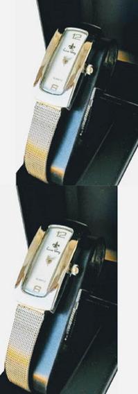 Kit C/2 Relógios Feminino Atacado Revenda Luxo Prata Aço Social Lindo Barato Promoção+caixas+ Envio Imediato
