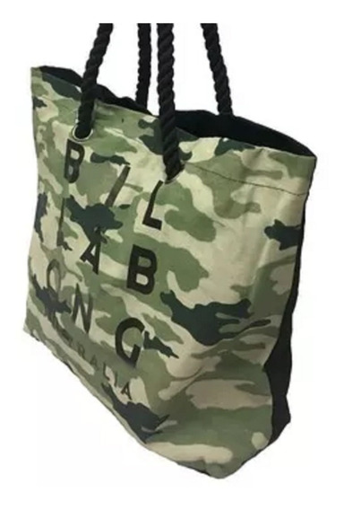 Bolso Billabong Trop Camo Beach Bag Mujer Cartera