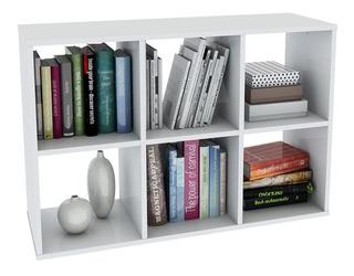 Organizador Cubo 6 Espacios Melamina - Muebles Y Cosas