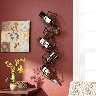 Southern Enterprises Nyssa 5-bottle Wall-mounted Wine Rack