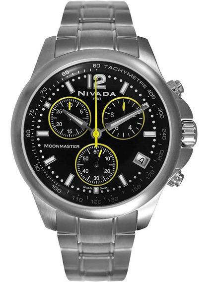 Reloj Nivada Np10008macna Moonmaster Soy Mercado Líder Gold