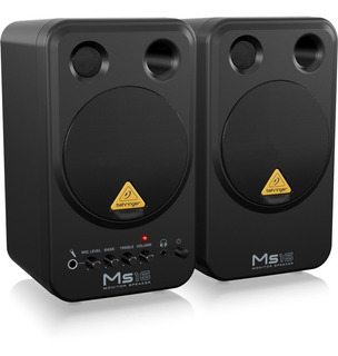Promo Behringer Ms16 Monitores De Estudio Home Studio