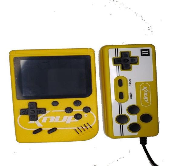Mini Game Portátil Com 400 Jogos E Mais 1 Controle