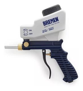Pistola Arenadora Neumatica Gravedad Bremen Cuerpo Plastico