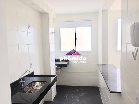 Apartamento Com 2 Dormitórios À Venda, 43 M² Por R$ 190.000 - Jardim Das Indústrias - São José Dos Campos/sp - Ap11553