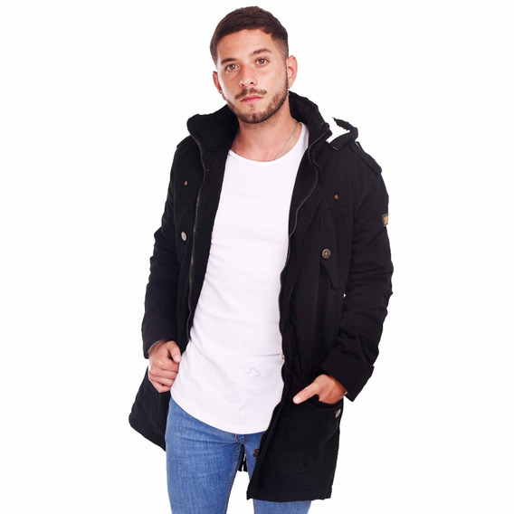 Customs Ba Camperas Hombre Parka Corderito Campera Full