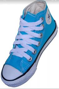 Tenis Converse All Star Ct Bota Azul Turquesa Infantil