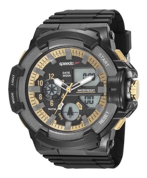 Relógio Speedo Masculino 81187g0evnp1 Com Nf