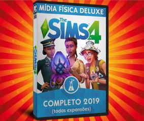 The Sims 4 Pc Todas Expansões Português Mídia Física (dvd)