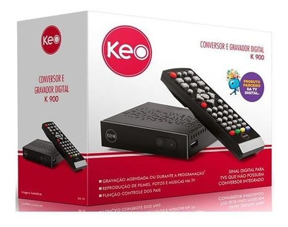 Conversor De Tv Digital E Gravador K900 Keo