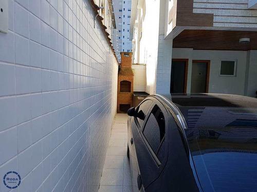 Sobrado De Condomínio Com 3 Dorms, José Menino, Santos - R$ 720 Mil, Cod: 6551 - V6551