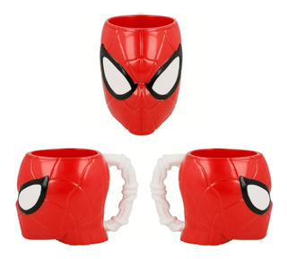 Taza Vaso Spiderman 3d 290ml
