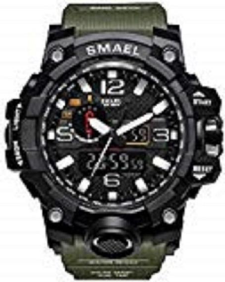 Relógio Masculino Militar G-shock Smael 1545 Camuflado