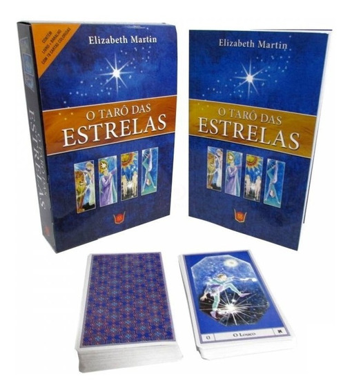 Tato Das Estrelas - C/livro + 78 Cartas Gratis Mini Baralho