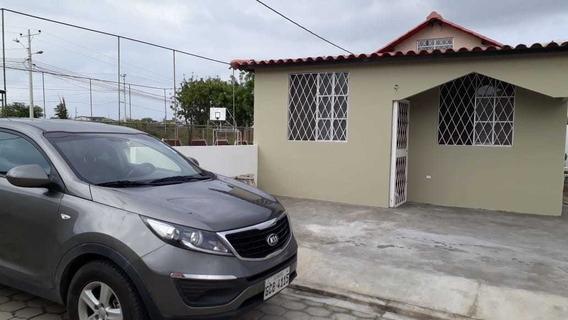 Casa Bonita De Playa Ciudadela Privada Con Piscina Ancón