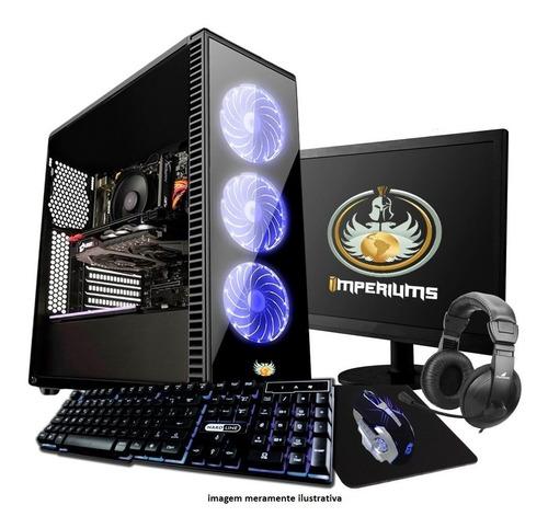 Pc Gamer G5400, Gtx 1050ti + Monitor E Kit Teclado E Mouse
