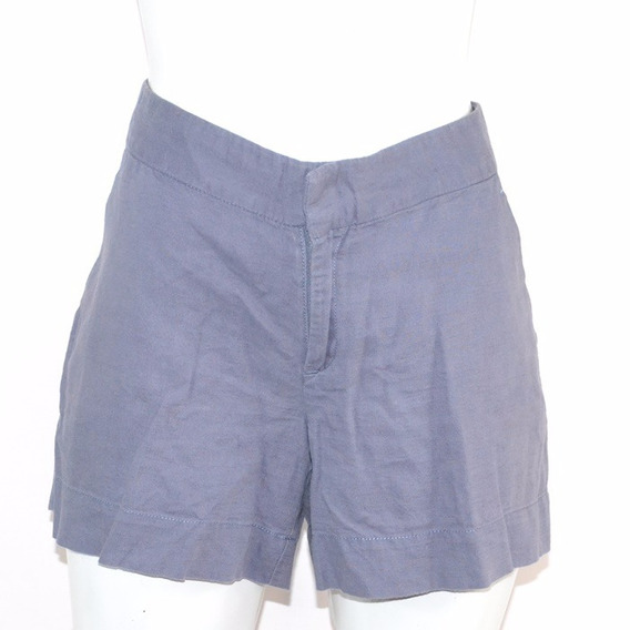 Banana Republic Short Azul 6 Msrp $950