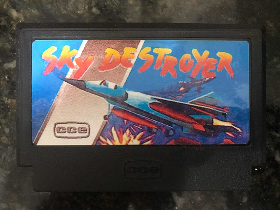 Sky Destroyer Nintendinho Nes Cce Temático Vg 8000 Vg 9000
