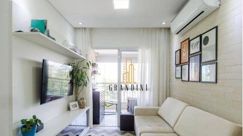 Apartamento Com 2 Dormitórios À Venda, 77 M² Por R$ 605.000,00 - Centro - São Bernardo Do Campo/sp - Ap2172