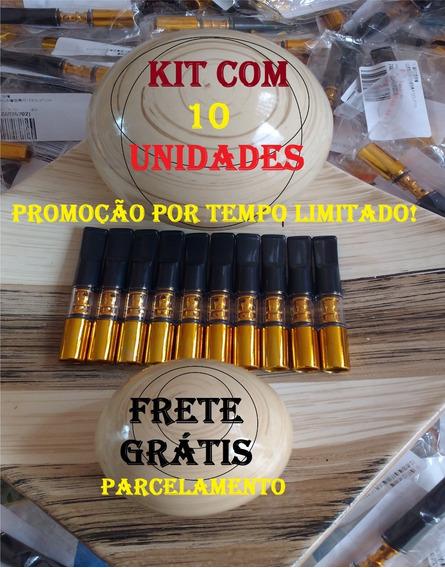 Piteira Redutora Lavável Kit Com 10 Unidades Pare De Fumar