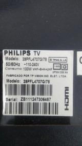 Cabos Flats Usados Tv Philips 39 Mod. Pfl4707