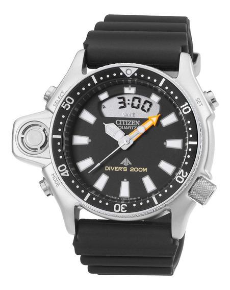 Relógio Citizen Aqualand Serie Prata Tz10137t Cert. Garantia