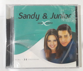 Cd Duplo Sandy & Junior - Sem Limite - 30 Sucessos [lacrado]