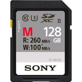 Cartão Sdxc 128gb Sony Uhs-ii U3 Série M De 260mb/s (classe1